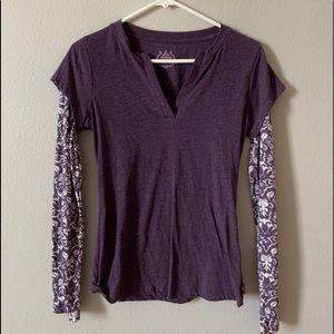 purple prana long sleeve:)
